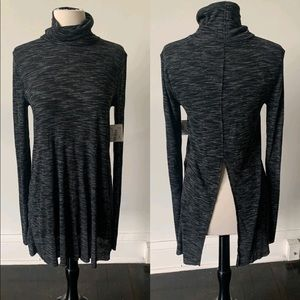 NWT Free People Turtleneck Backless Tunic